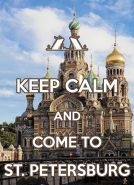 KEEP CALM and come to St. Petersburg