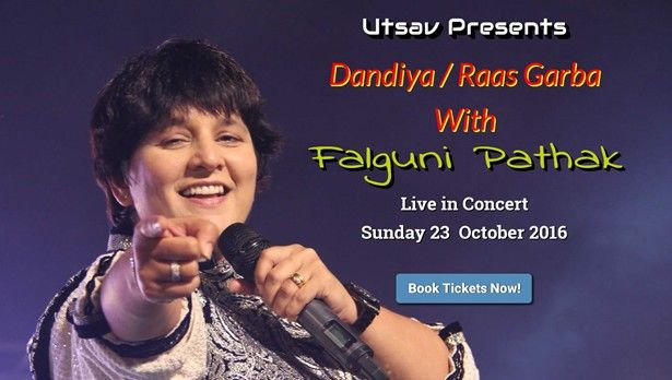 Falguni Pathak Dandiya & Raas Garba 2016 in Seattle