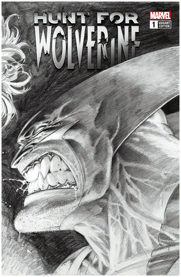 Hunt For Wolverine 1 Marvel Mike Deodato Variant