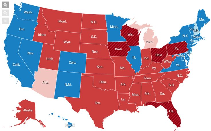 Common Cents: 2016 Presidential Election Maps