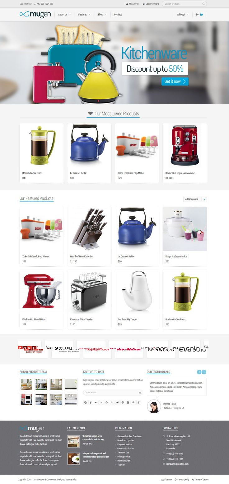 Mugen – Flexible Business & Woocommerce