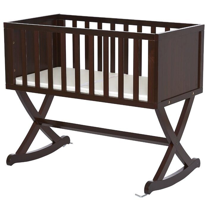 Haven Rocking Cradle With Mattress In, Dream On Me Cradle Bedding