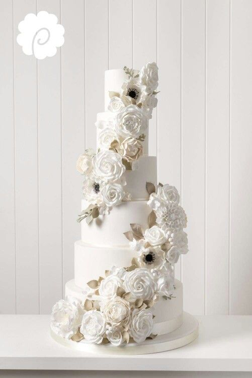 Beautiful cascading Sugarflowers
