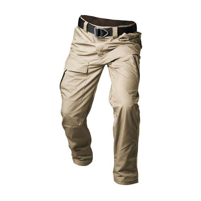 Men Tactical Pants Combat Trousers Army Military Pants Mens Waterproof Pants Casual Cotton Trousers