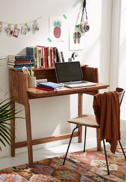 The 25 Best Fold Out Desk Ideas On Pinterest Murphy Table And Craft Storage For Small Es