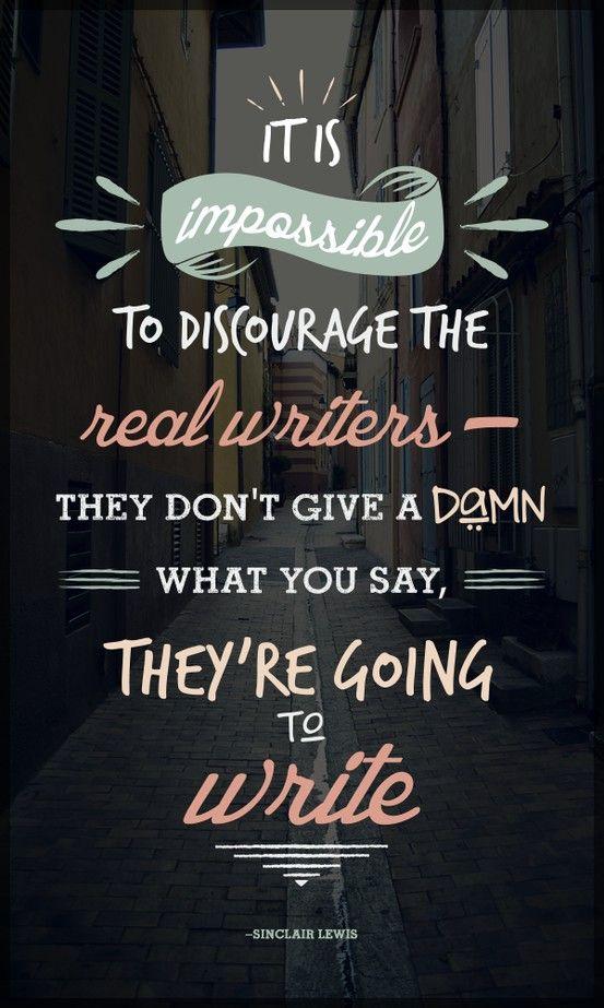That's write! (: