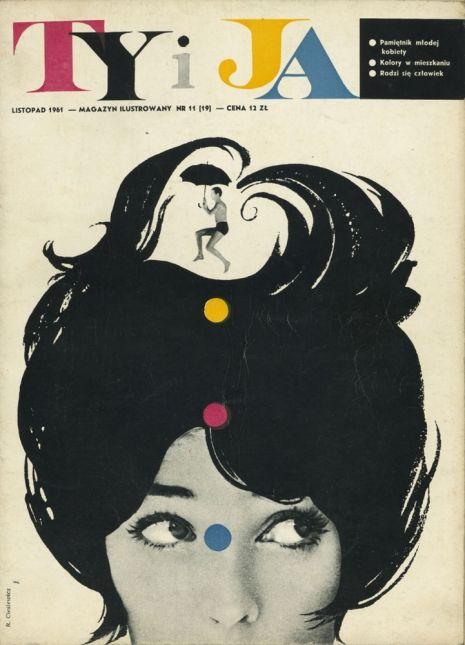 """okładka magazynu """"Ty iJa"""", 1961"""