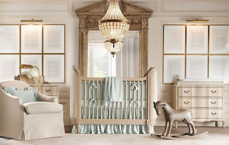 Depósito Santa Mariah: Quartos de bebê decorados com muito luxo!