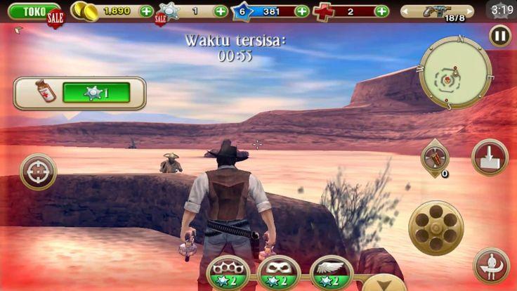 Mati Di Tusuk Nenek Lampir - GamePlay Android (Six-Guns #2)