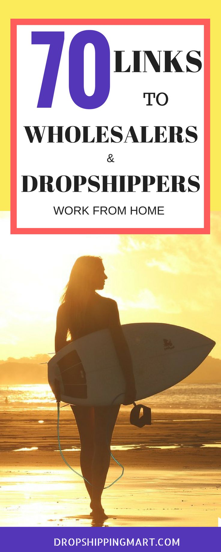 The Ultimate Dropshipper List of 70 Suppliers by Niche that will make you money.