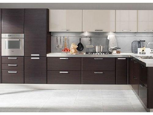 dark cabinets below white above