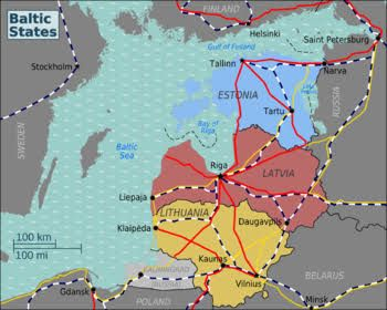 Image result for tourist map baltic states Baltic states