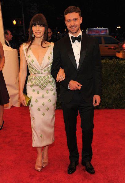 Jessica Biel and Justin Timberlake, 2012