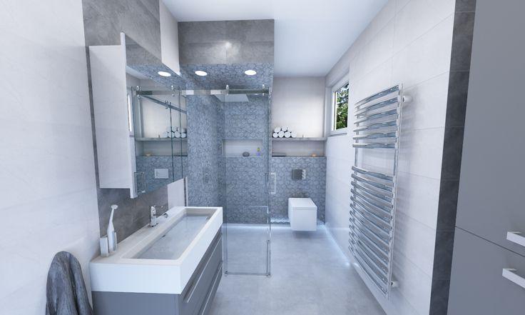 malá štýlová kúpeľňa s použitím obkladu a dlažby od firmy TGB Plast