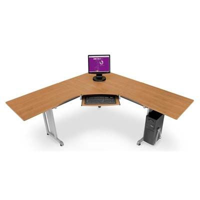 """72""""x72"""", 24""""D L-Shaped Workstation -FREE SHIPPING 
