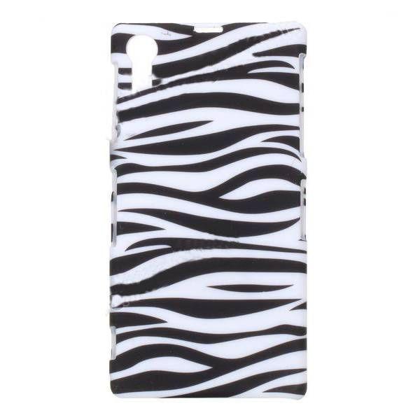 Zebra hard case telefoon hoesje Sony Xperia Z1 - PhoneGeek.nl