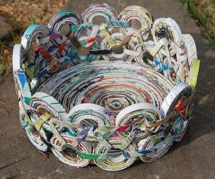 Una segunda oportunidad...*Ha reciclar* Recycled paper art,
