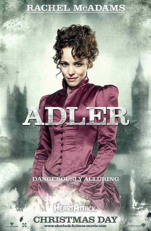 映画 『シャーロック・ホームズ』アイリーン・アドラーのポスター