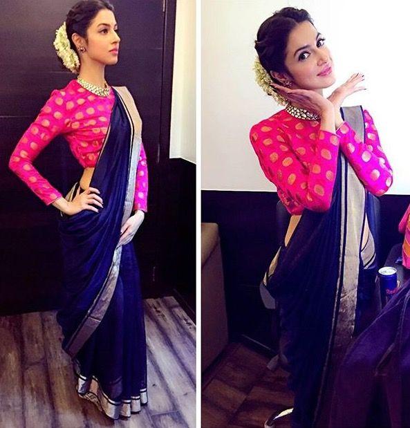 Saree draping style More