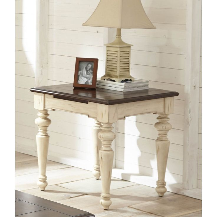 Wakefield End Table by Greyson Living (Wakefield End Table), White