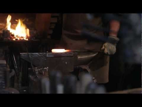 The Birth Of A Tool. Part III. Damascus steel knife making (by John Neeman Tools)