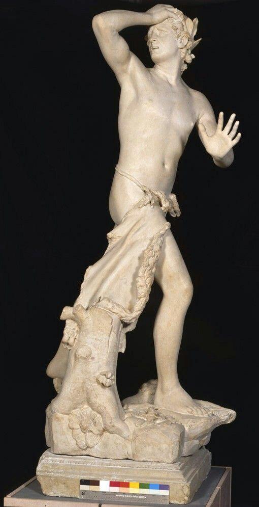 Antonio Canova, Orfeo ed Euridice, marmo, 1776. Venezia, Museo Correr.