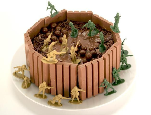 Plastic soldiers are always great for cake decorating!
