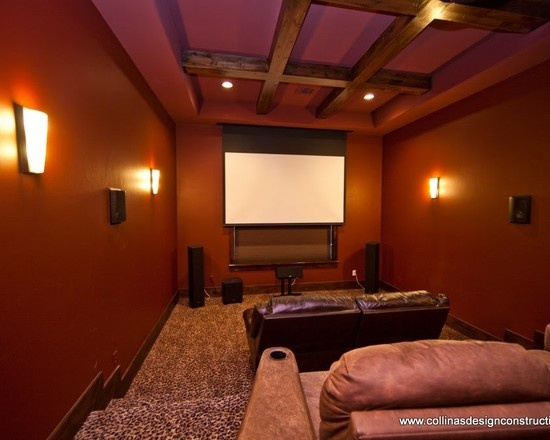 Media Room Leopard Print Carpet Game Room Pinterest