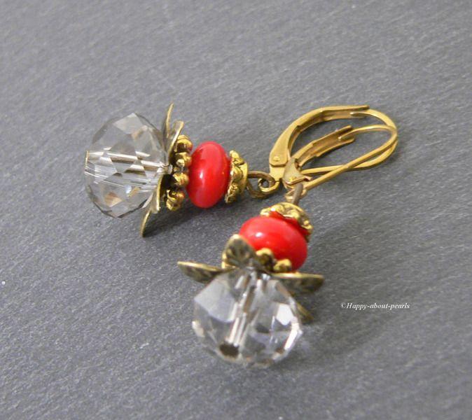 Ohrringe - Ohrringe Vintage - ein Designerstück von Happy-about-pearls bei DaWanda