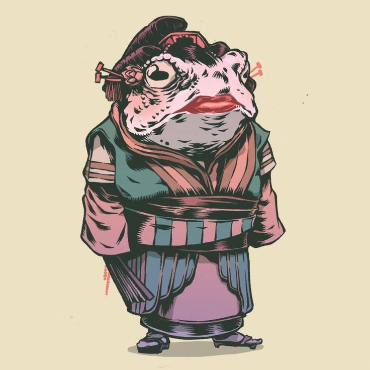 We Want to Read a Comic Book About These Amazing Samurai Frogs