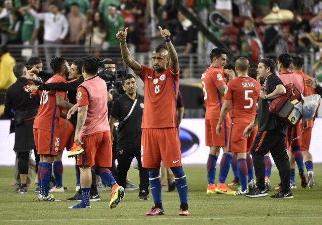 Arturo Vidal - Chile #CopaAmerica2016 (créditos: AFP)
