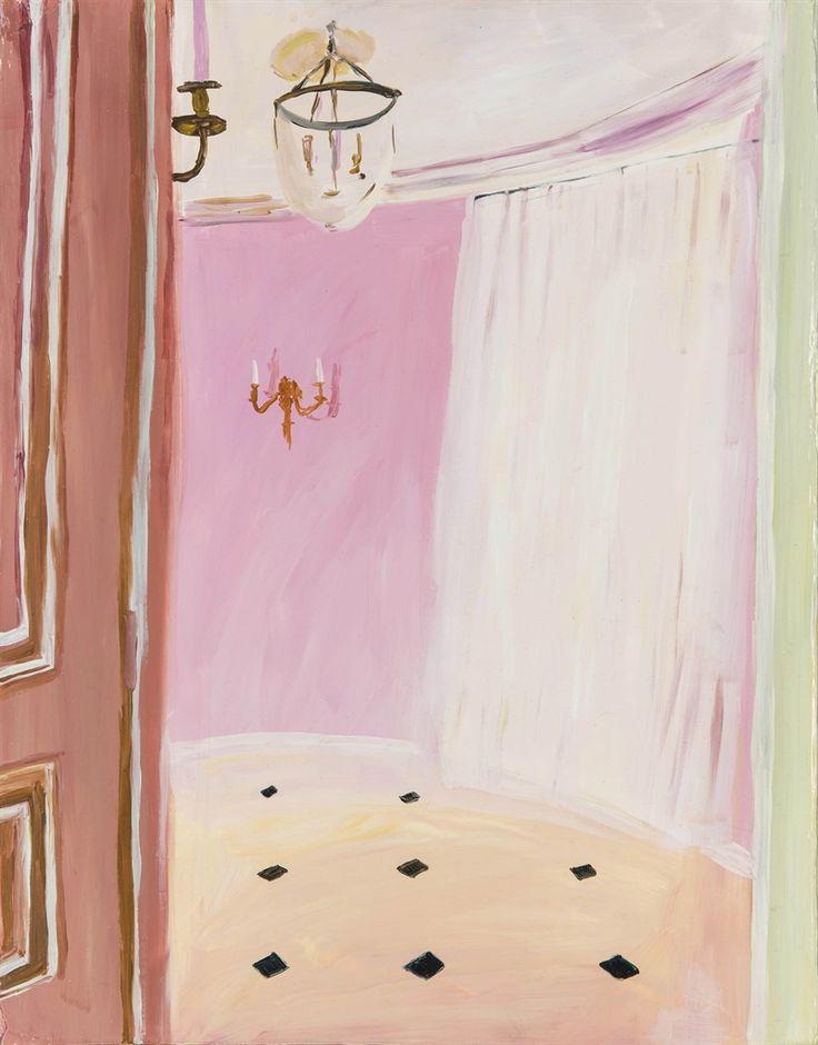Karen Kilimnik (American, b. 1955), The Pink Room, 2002. Oil on canvas.