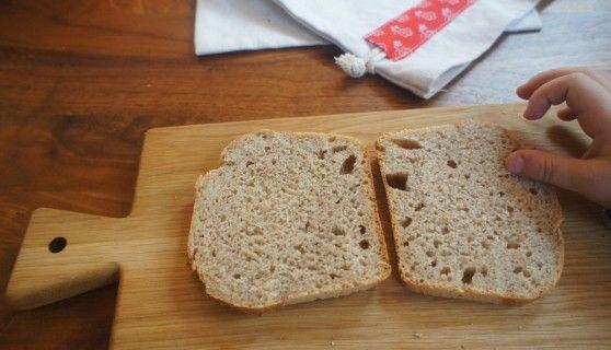 Toastový špaldový chlieb