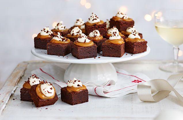 Mini brownies FINISHED SHOT mini