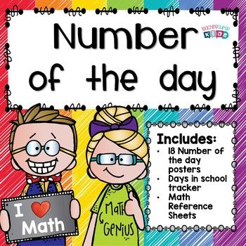 Do you have a math meeting with your students every morning? These Number of the Day posters and activities are a great way to build number sense for your students and get them warmed up for more!   Number of the day is an awesome way to practice numbers in various ways.There are several different posters so you can mix and match them to suit your students needs or rotate them out!