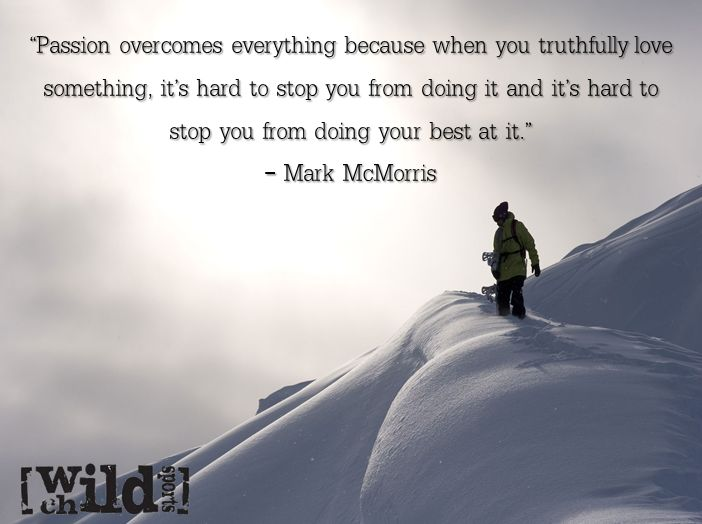 Check out this week's extreme sports quote of the week from Mark McMorris. Check out this Mark McMorris quote in the extreme sports quote of the week.