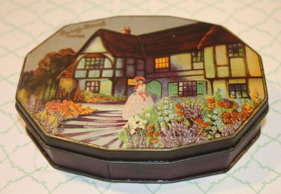 Delectable Dainty Dinah Horner's vintage tin with by Tinternet