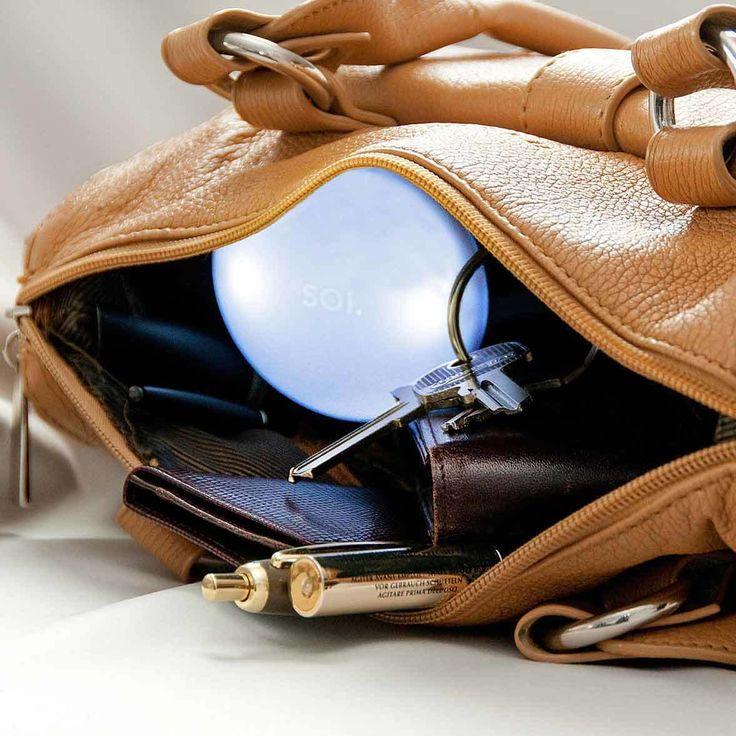 The Design Gift Shop - SOI | Automatic Handbag Light | Large, $49.90 (https://www.thedesigngiftshop.com/soi-automatic-handbag-light-large/)