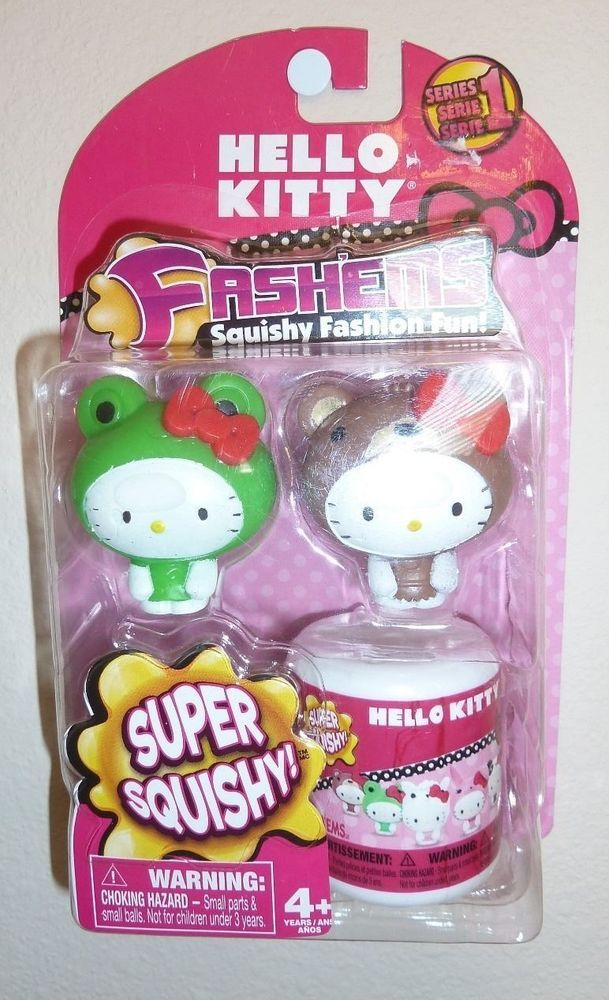 Squishy Pops Toys R Us : HELLO-KITTY-FASHEMS-Fashems-SQUISHY-Series 1 Toys Pinterest