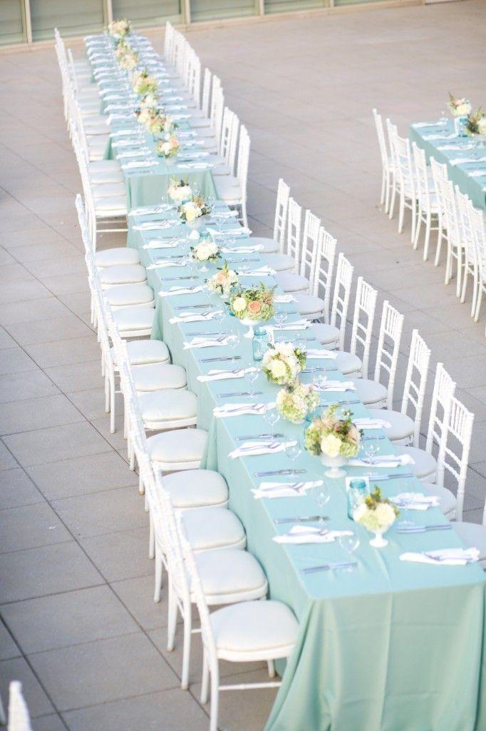 Les 24 meilleures images du tableau mariage vert menthe d 39 eau mint sur pinterest mariages vert - Light blue and mint green ...