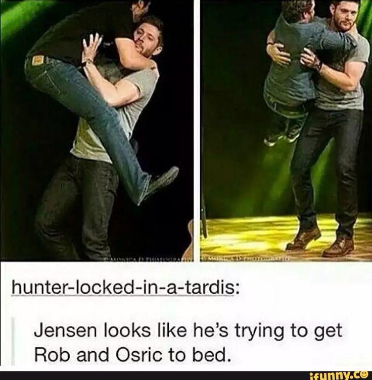 Jensen ackles, rob Benedict, osric chau