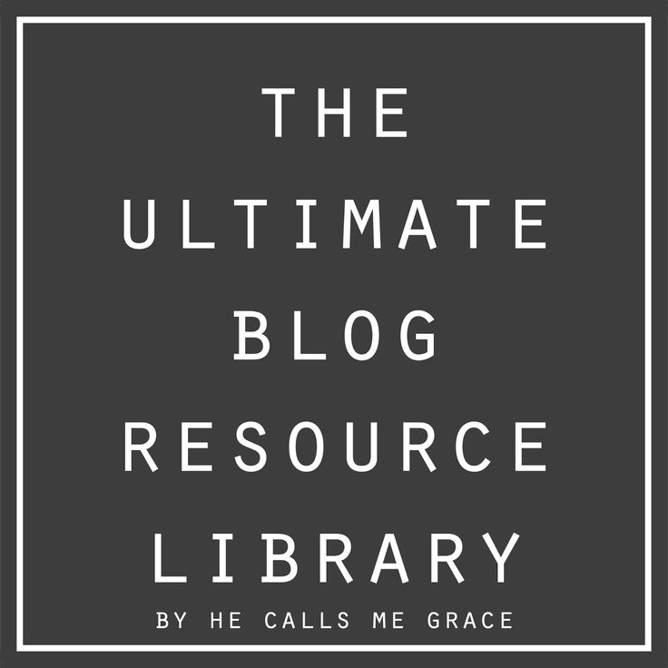 Blog Resource Library