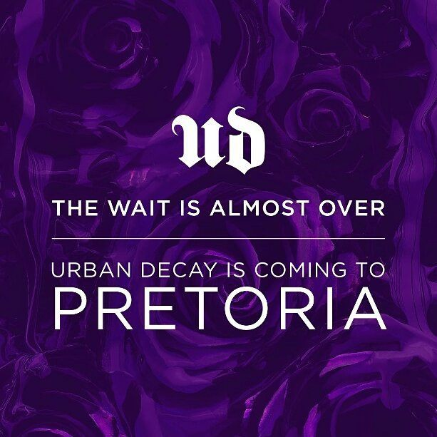 Are you ready for this???  Listen up UD Junkies. #UrbanDecaySA is taking badass luxury to Pretoria. Were bringing the FEMININE. Were bringing the DANGEROUS. Were bringing the FUN. Stop by Menlyn Park Shopping Centre on the 16th of June 2017 and we promise to have you SHOOK  #belleblushh #makeup #makeuplover #makeupjunkie #makeupstash #makeupfix #fakeupfix #hudabeauty #blogger #beautyblogger #bbloggers #instagood #instadaily #love #ud #urbandecay #urbandecaysa #udpretoria #udmenlyn
