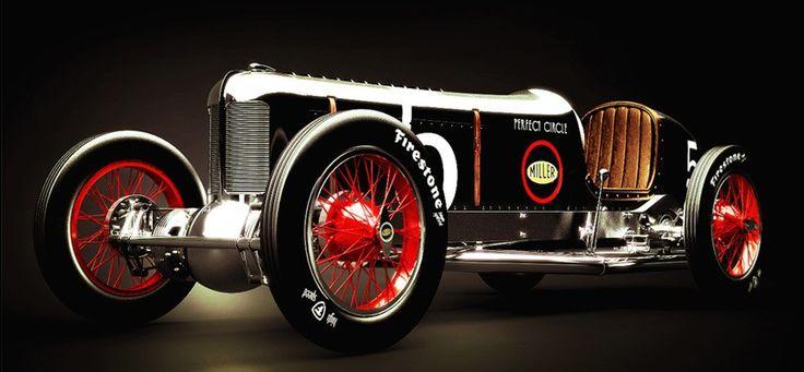 Miller race car