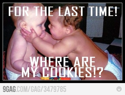 : Cookies Monsters, Funny Humor, Funny Pictures, Quote, Funny Stuff, Things, Funny Baby, Kid, Cookies Jars