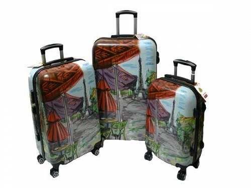 Prezzi e Sconti: #Set 3 trolley justglam in abs 4 ruote art  ad Euro 125.90 in #Kelkoo #Valigeria
