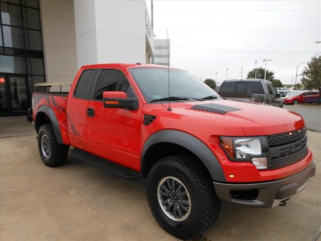 2010 red Ford f150 used truck for sale online   Raptor pickup truck 1FTEX1EV6AFB54917