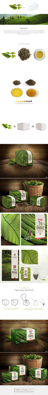 Cau Tre Oolong #Tea #packaging by Wildfire Collaborative - http://www.packagingoftheworld.com/2015/02/cau-tre-oolong-tea.html - created via http://pinthemall.net