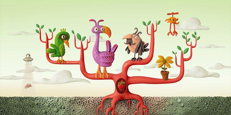 © Juan Pablo Zaramella | Ilustradores Argentinos | Plastilina / Clay illustration http://www.ilustradoresargentinos.com/juan-pablo-zaramella/