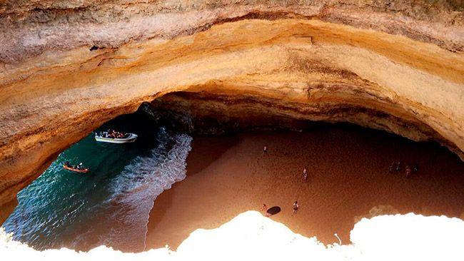 Benagil Viajes De Verano Viaje A La Playa Algarve